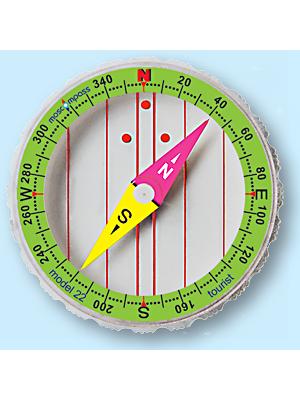 Колба компаса Moscompass модель 22