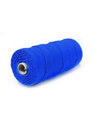 Веревка 4 мм Кол цв (16пр) синий
